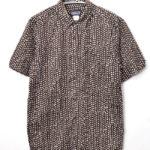 2012SS/4095 SP12/HARVEST SHIRT ハーベストシャツ 総柄プリント半袖シャツ