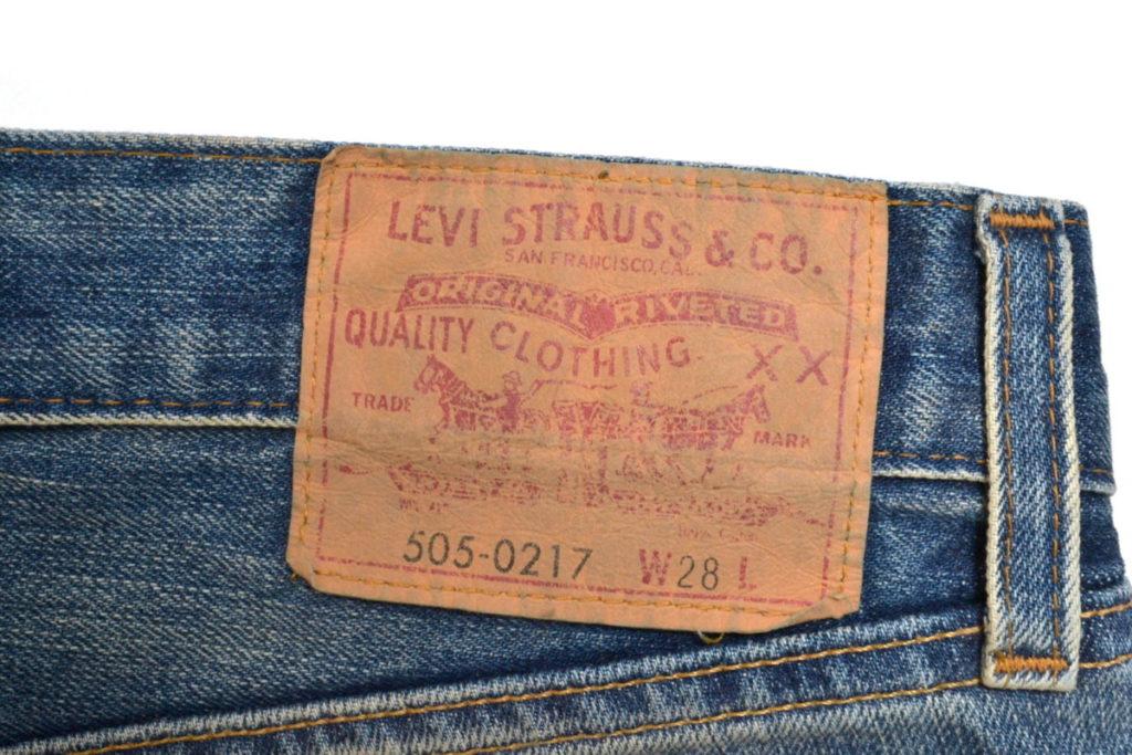505-0217 刺繍カットオフショーツの買取実績画像