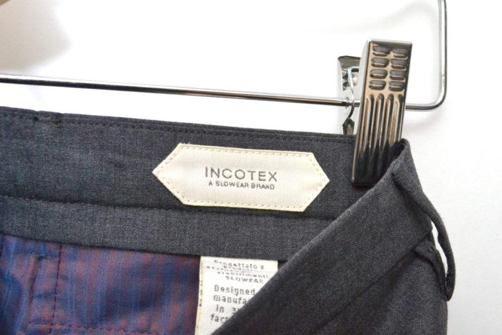 SUPER 100s トロピカルウール ノープリーツ ショーツ ショートパンツの買取実績画像