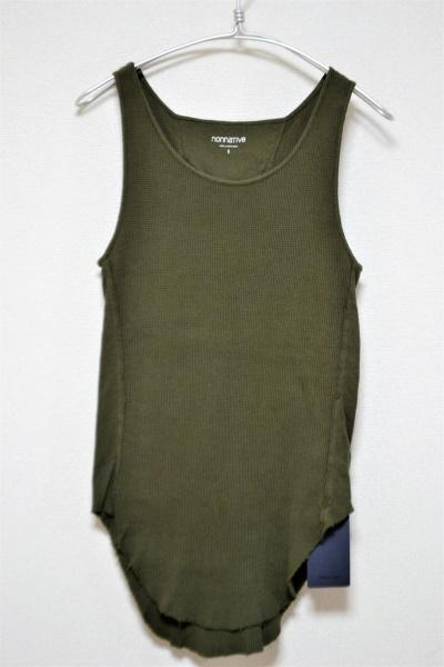 16SS/ DWELLER TANK TOP COTTON WAFFLE タンクトップ ワッフルの買取実績画像