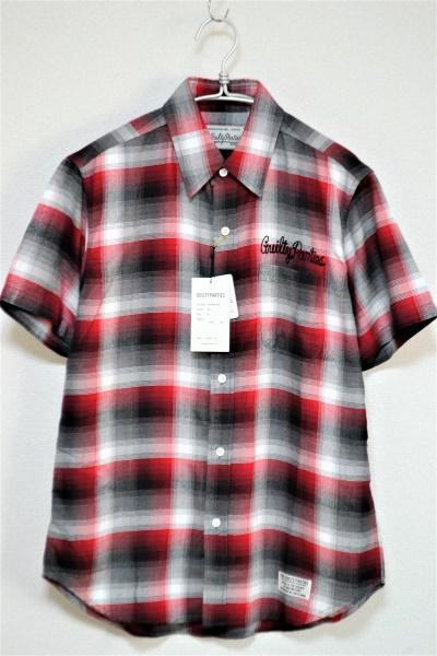 RAYON OMBRE CHECK REGULAR COLLARED SHIRT S/S (TYPE-4) オンブレチェック 半袖シャツ