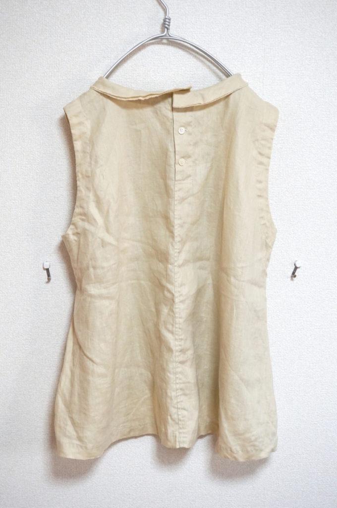 リネン ノースリーブシャツ ブラウスの買取実績画像