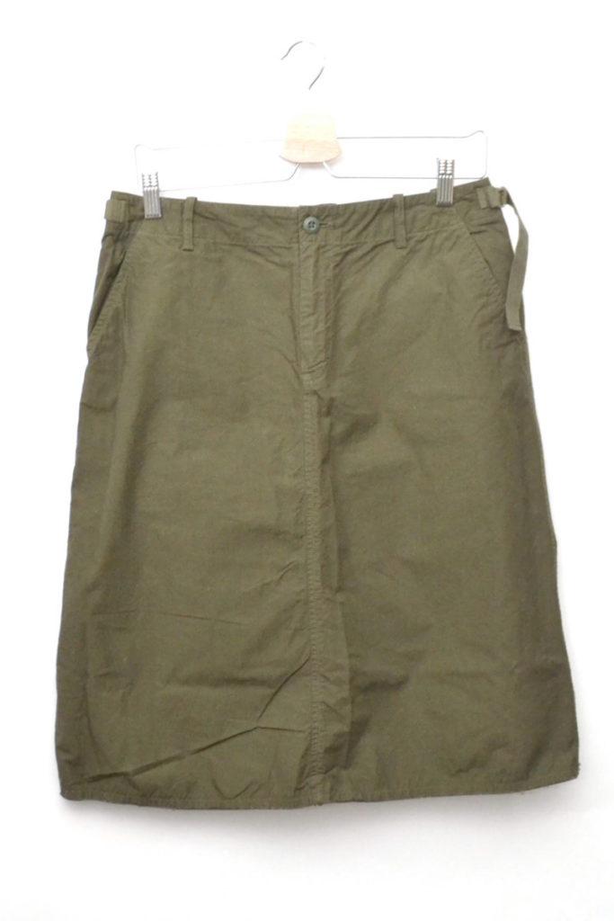 Cotton Poplin/Army Skirt コットンポプリン アーミースカートの買取実績画像