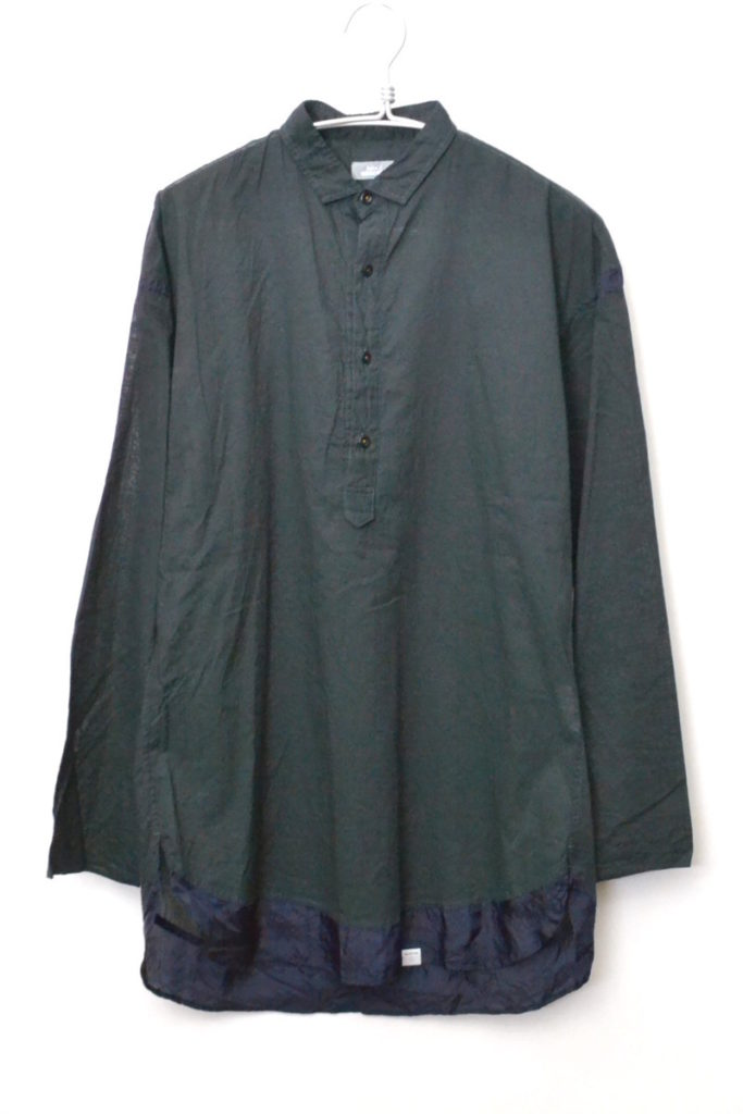 2017SS/ コットン キュプラ切替 プルオーバーロングシャツの買取実績画像
