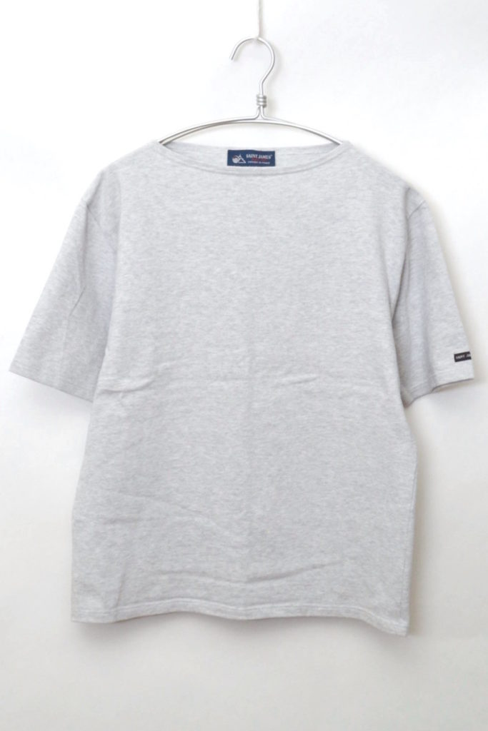 OUESSANT SOLID S/S ウエッソン無地半袖バスクシャツ