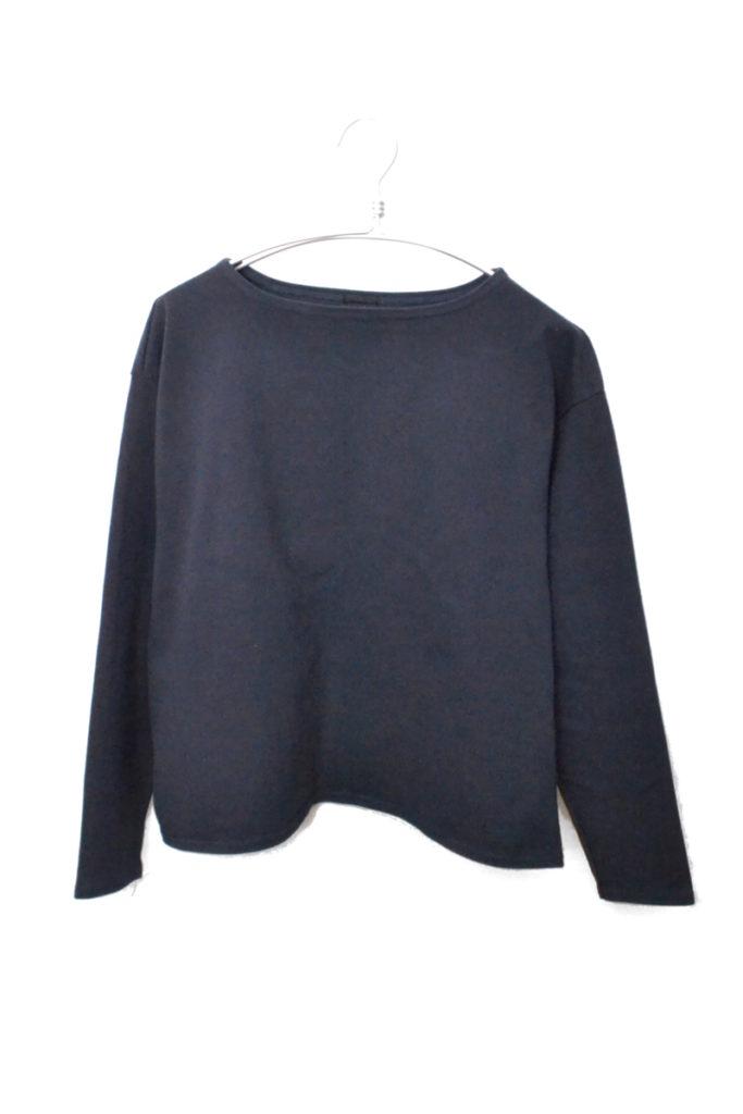 2018/BIG TEE LONG SLEEVE エルボーパッチ ビッグバスクシャツ