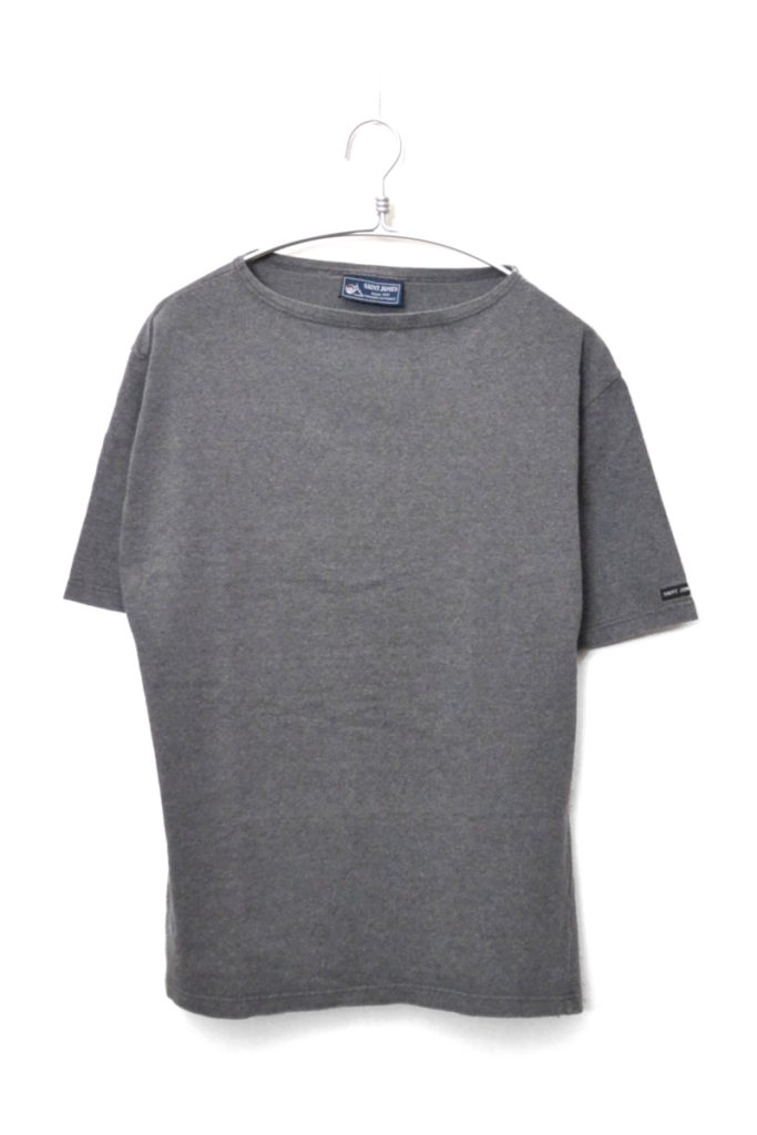 OUESSANT SOLID S/S ウエッソン無地 半袖バスクシャツ