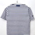 OUESSANT S/S ウエッソン半袖 ボーダーバスクシャツ