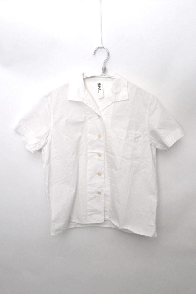 2017SS/PAPER COTTON ペーパーコットン オープンカラーシャツ