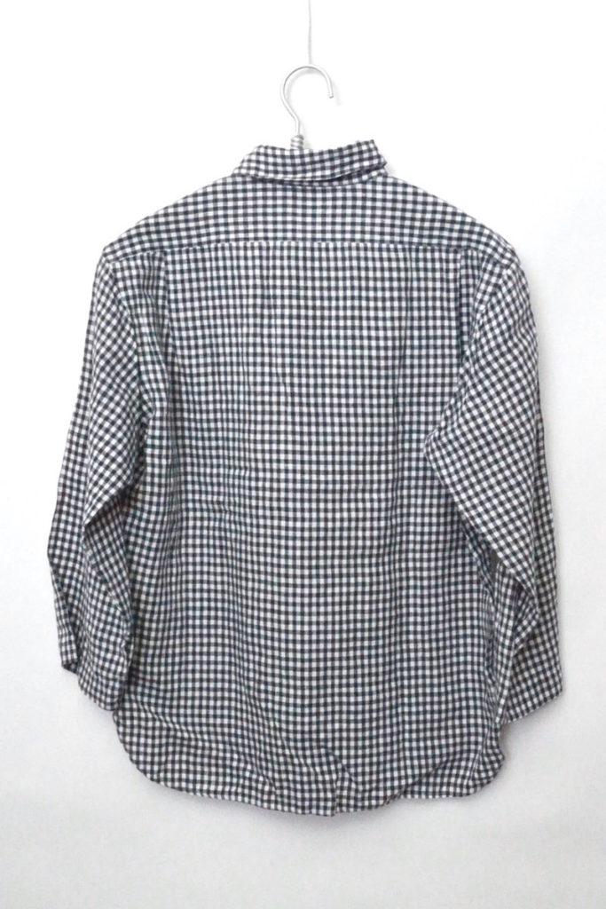 リネン ギンガムチェック 7分袖シャツ プルオーバーの買取実績画像