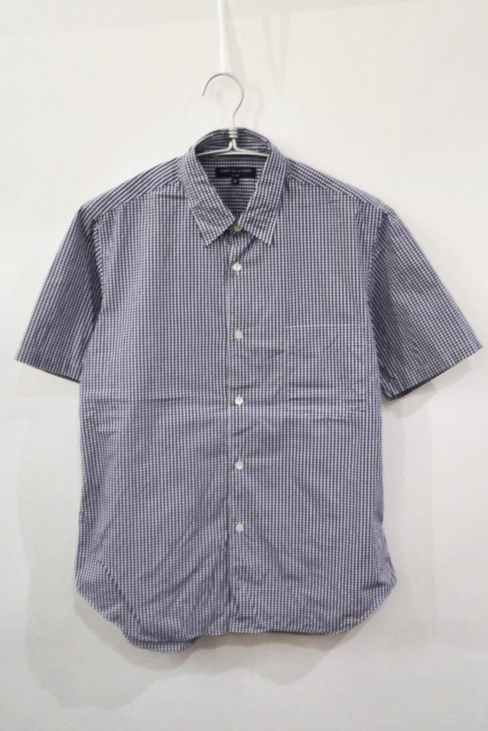 AD2006 2007SS/ ギンガムチェック 半袖シャツ