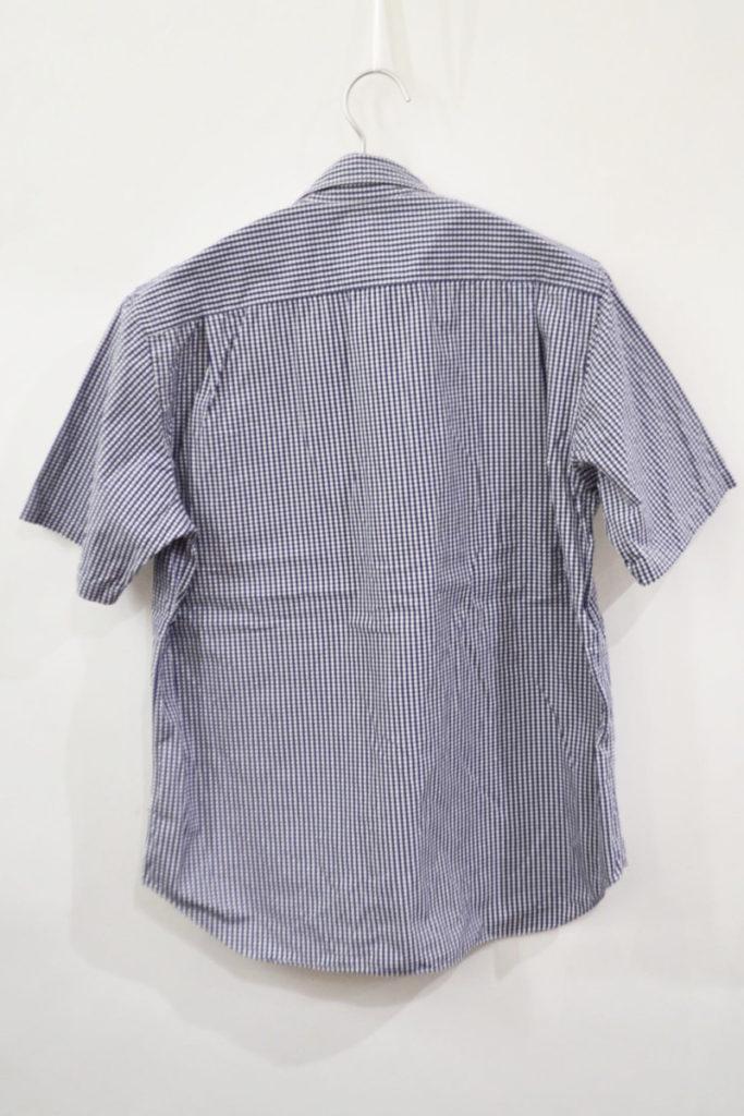 AD2006 2007SS/ ギンガムチェック 半袖シャツの買取実績画像