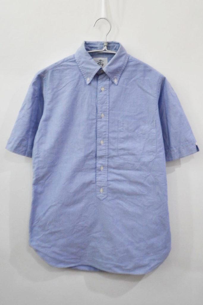 オックスフォード 半袖BDシャツ プルオーバー