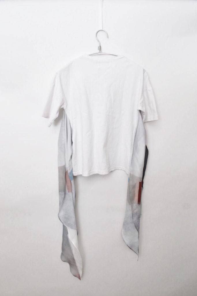 MEDI DRAWING UNEVEN TEE スカーフ ドッキングTシャツの買取実績画像