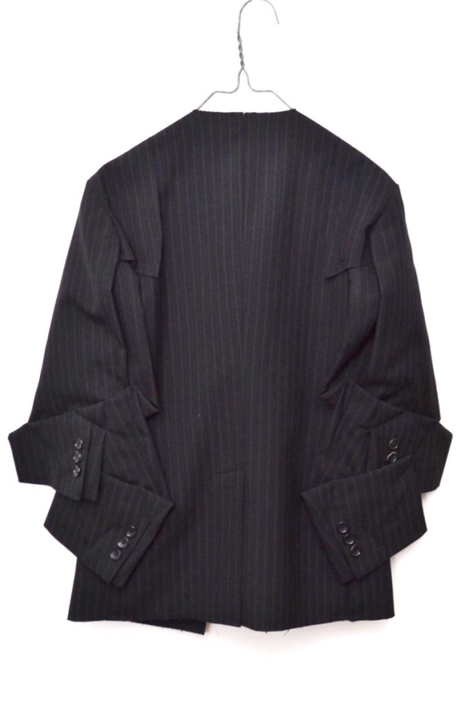 AD2012 2013SS/ クラッシュ期 変形袖 再構築ジャケットの買取実績画像