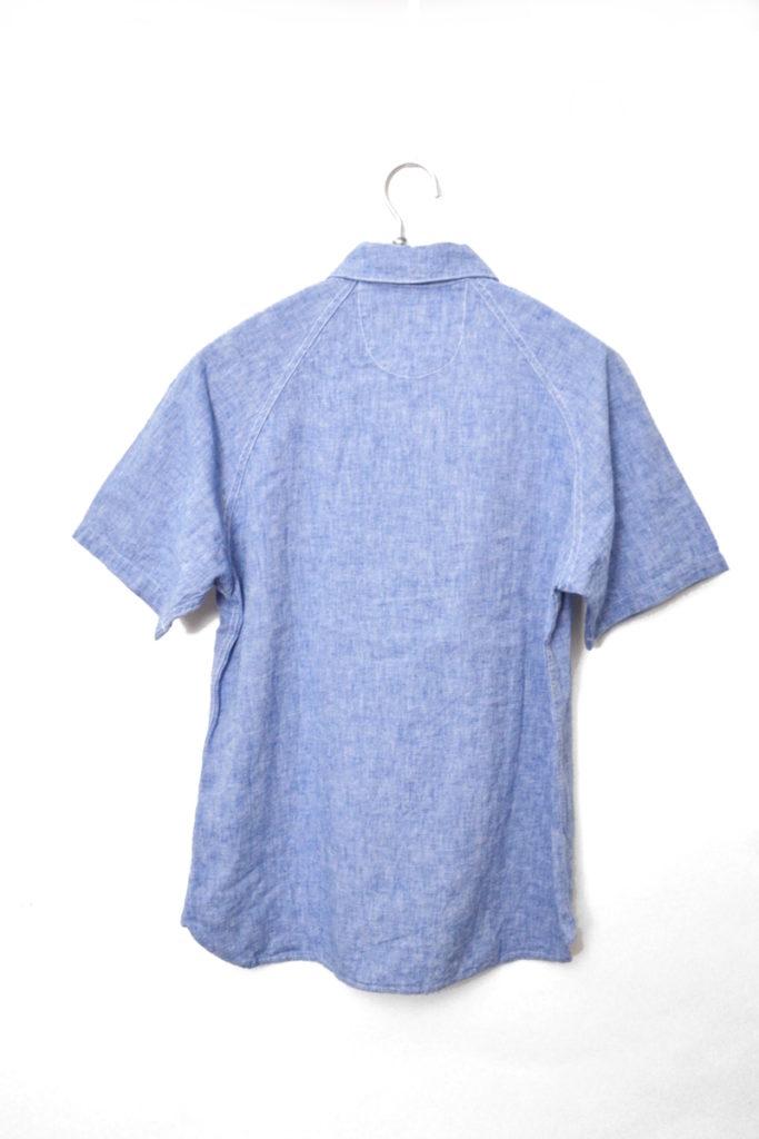SAILOR S/S SHIRT ベルギーリネン セーラーカラー 半袖シャツの買取実績画像