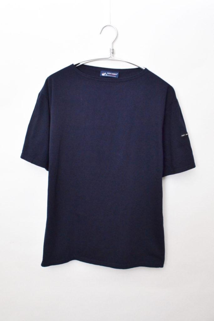PIRIAC SOLID ピリアック無地 ボートネックTシャツ