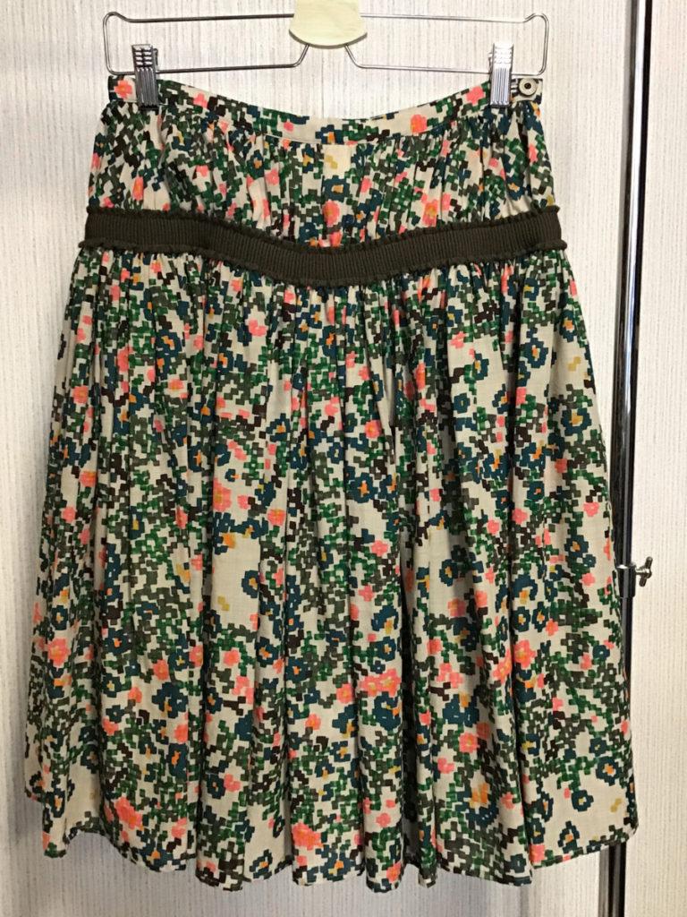 flowerbed スカート