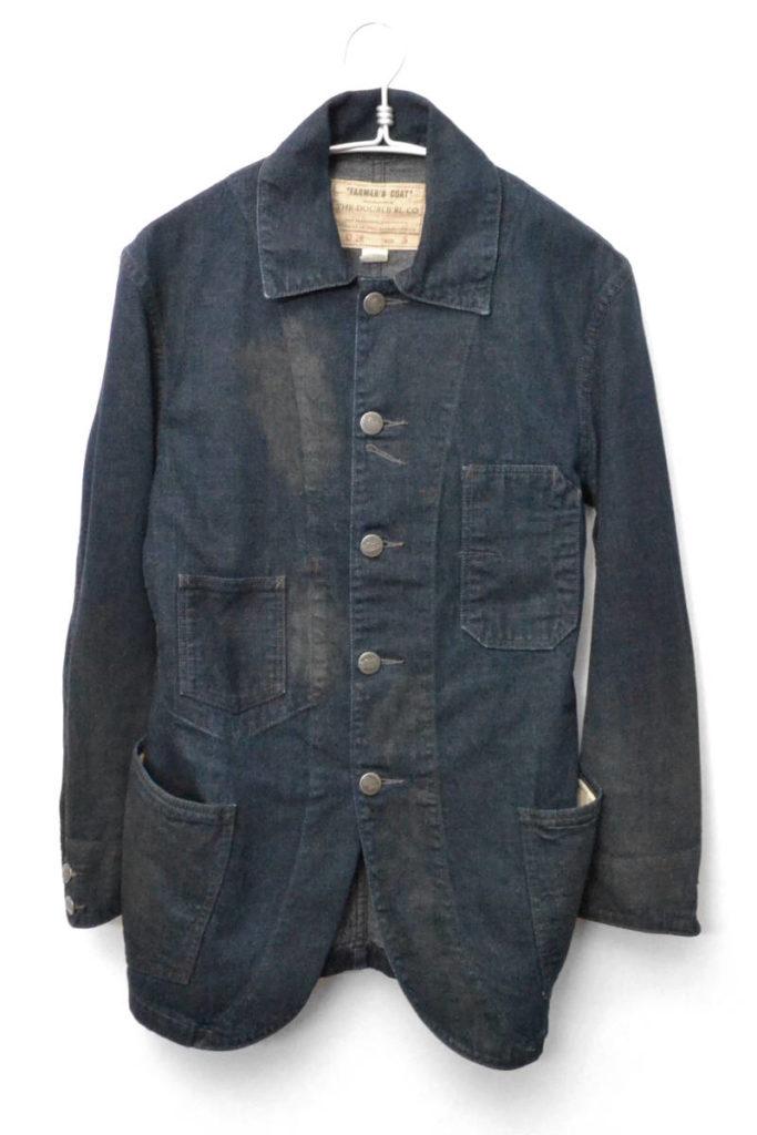 LOT 016/FARMER'S COAT ファーマーズコート 加工デニムカバーオールジャケットの買取実績画像