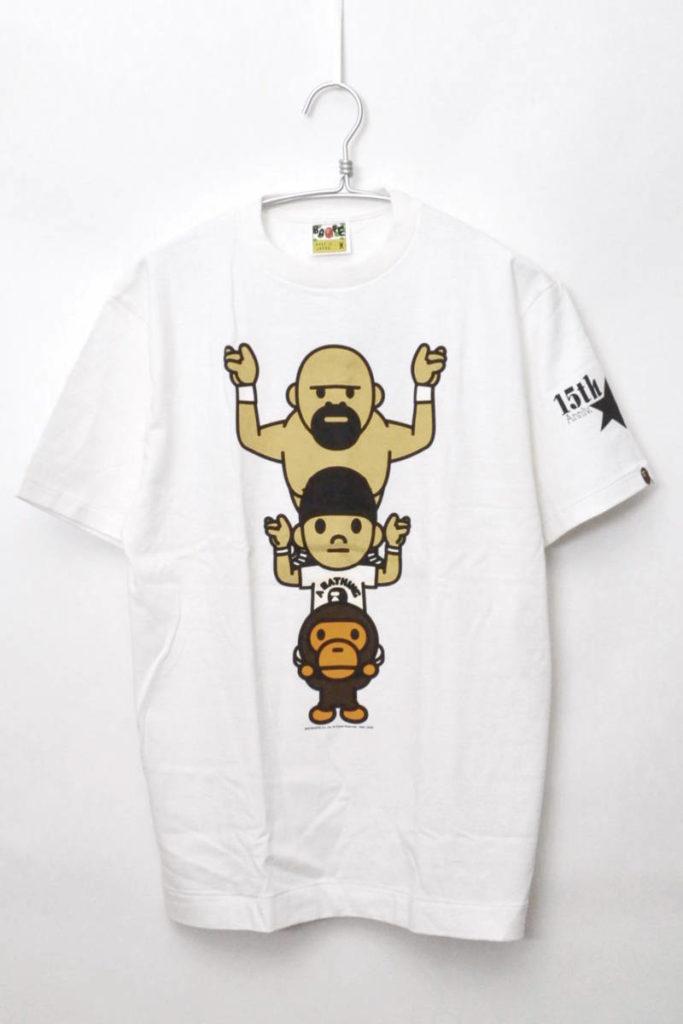 × 全日本プロレス武藤敬司 ◆ 15周年記念 コラボTシャツ