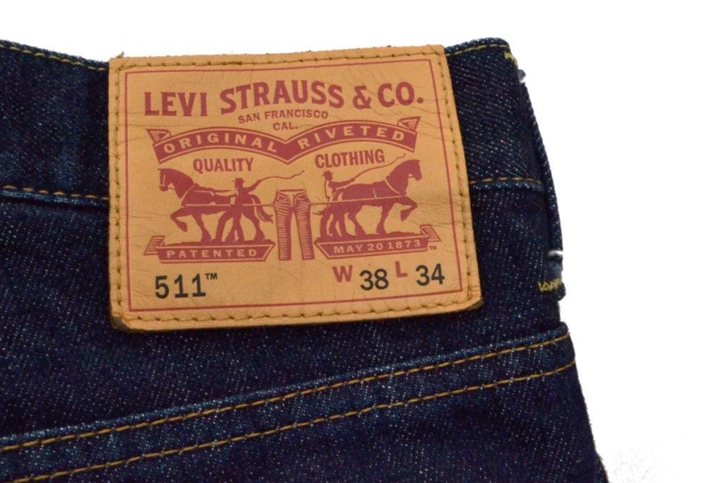 2014AW/綿デニム Levi's511 カスタマイズの買取実績画像