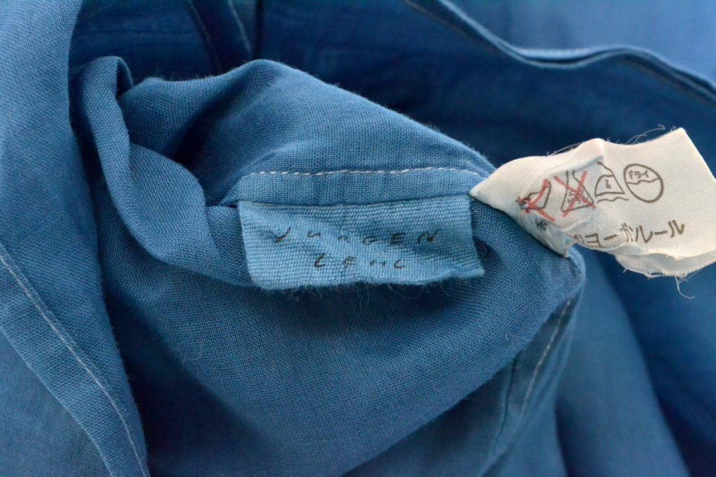 コットンオープンカラーシャツの買取実績画像