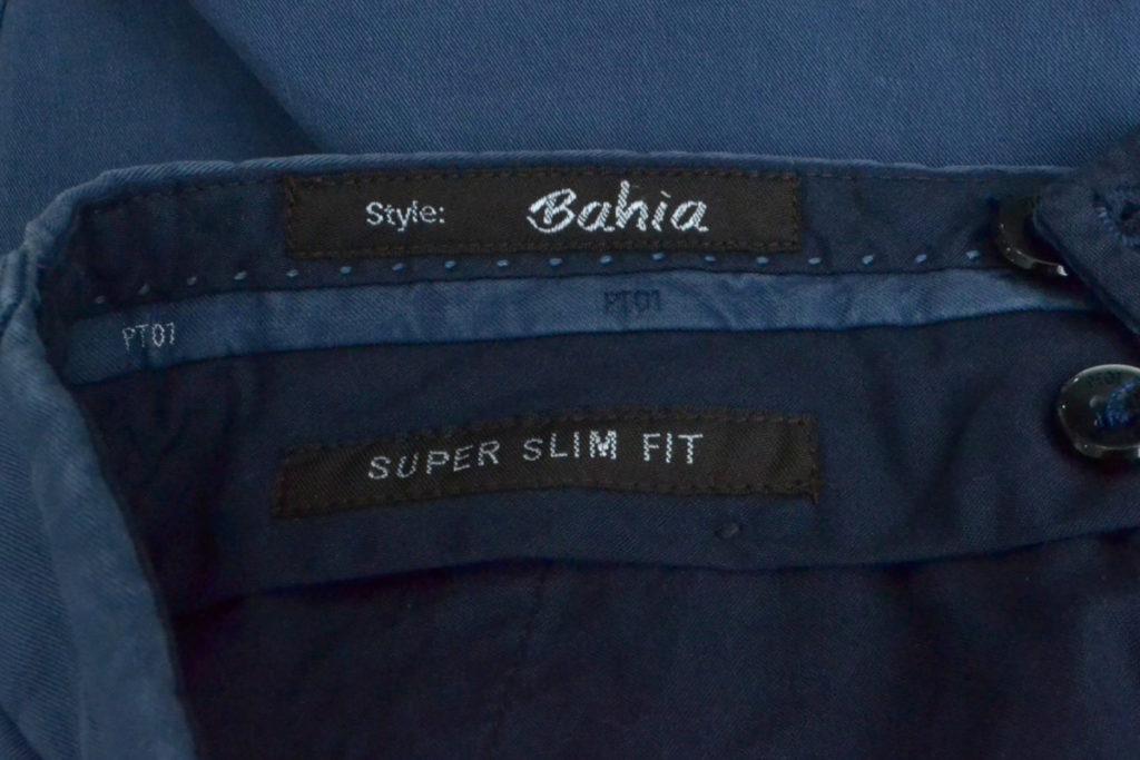 Bahia SUPER SLIM FIT STRETCH ストレッチ チノパンツの買取実績画像