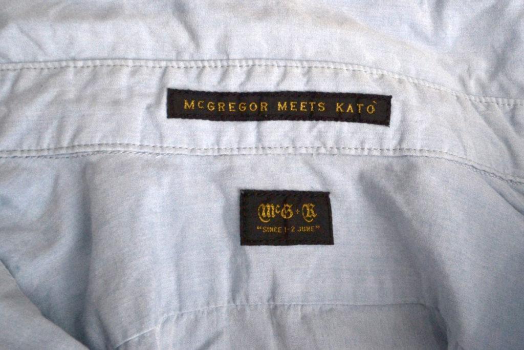 コットンポプリン ラウンドカラーシャツの買取実績画像