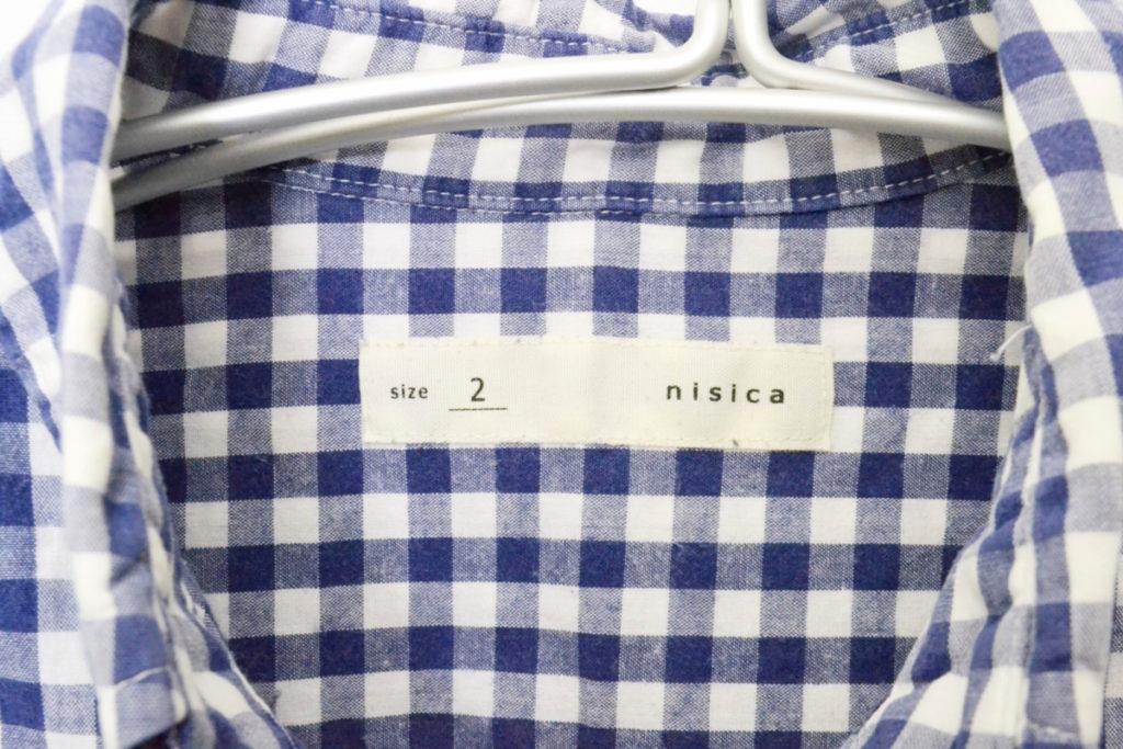 ギンガムチェック BDシャツの買取実績画像