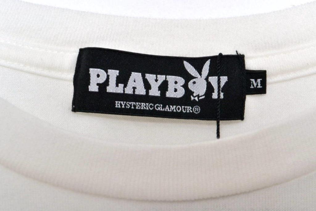 × PLAY BOY/ ASHLEY SMITH pt T-SH プリントTシャツの買取実績画像