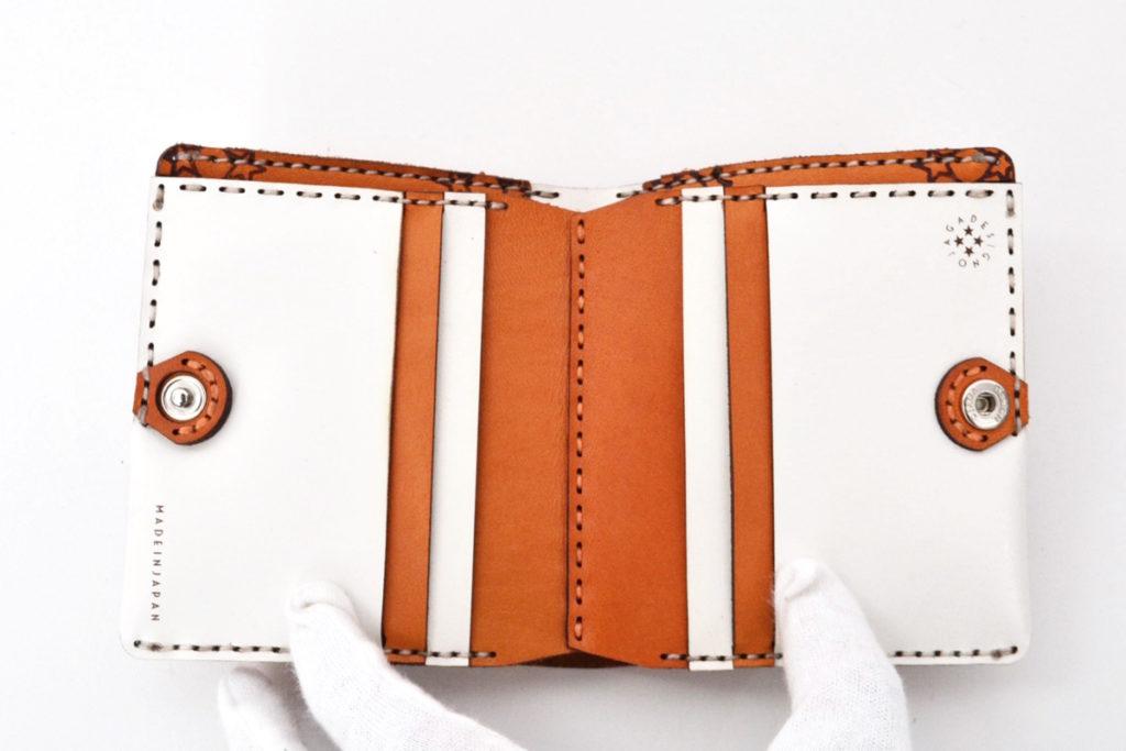 ショートウォレット札入れ二つ折り財布の買取実績画像