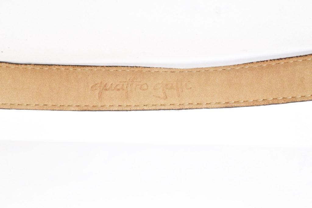 ウエスタン調 クロコダイル型押しベルトの買取実績画像