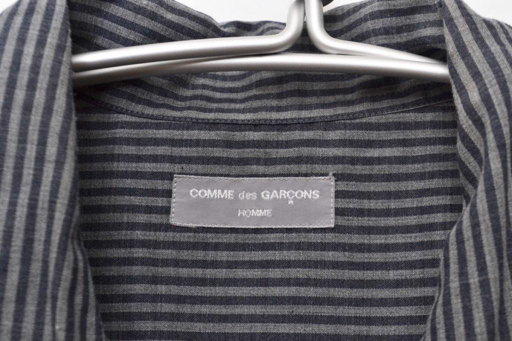 AD2001/ポリエステルストライプ オープンカラーシャツの買取実績画像
