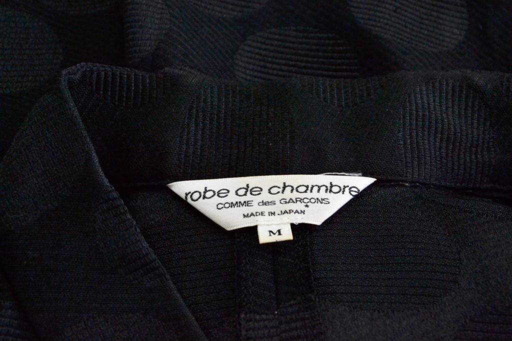 03AW/ポリエステル ドット チャイナジャケットの買取実績画像