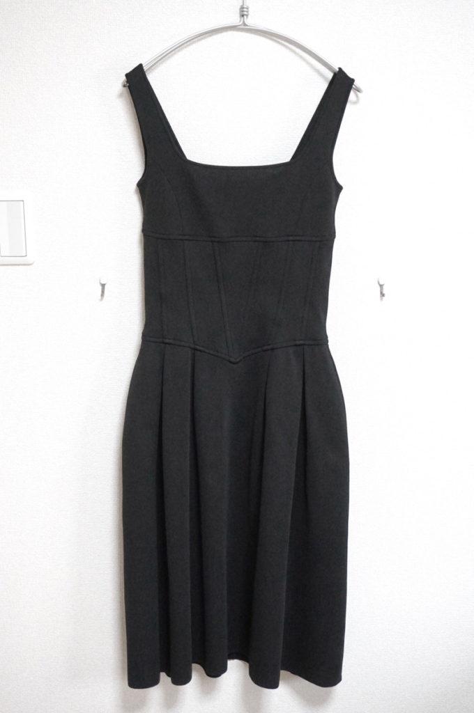ジャージー ノースリーブ ワンピース ドレスの買取実績画像