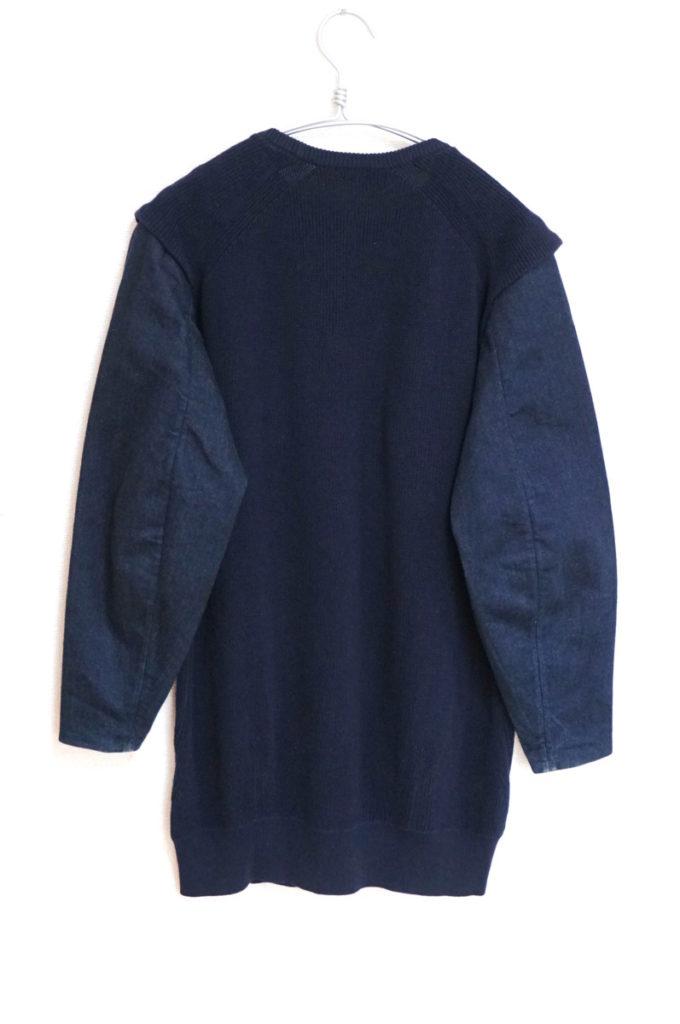 2014/ 袖デニム 切替ポケット付 ニット セーターの買取実績画像