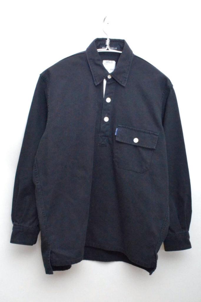 2016/ CANVAS BIG SHIRT キャンバスビッグプルオーバーシャツ