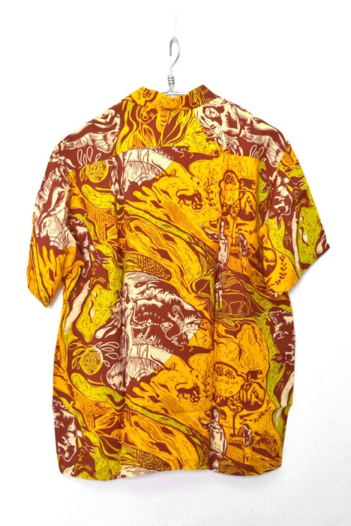 「GAUGUIN WOODCUT MYSTIC」 KAMEHAMEHA スペシャルエディション アロハシャツの買取実績画像