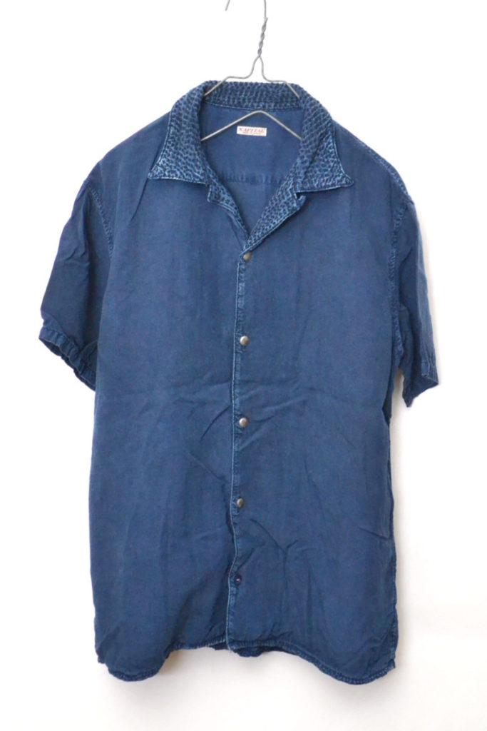 EK-242 IDGレーヨン 刺し子アロハシャツの買取実績画像