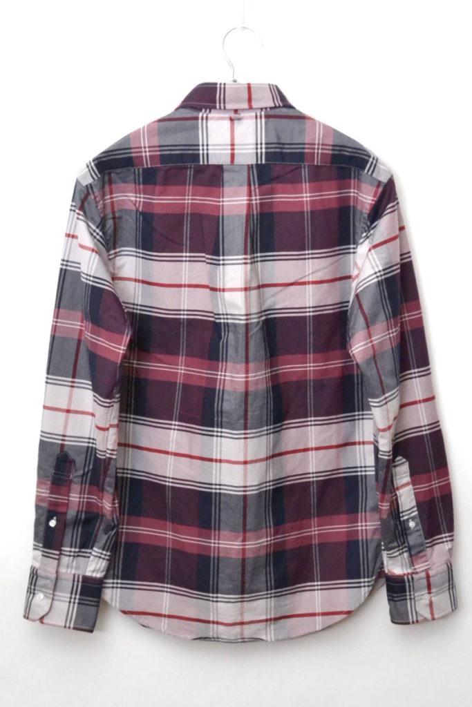 オックスフォード チェックBDシャツの買取実績画像