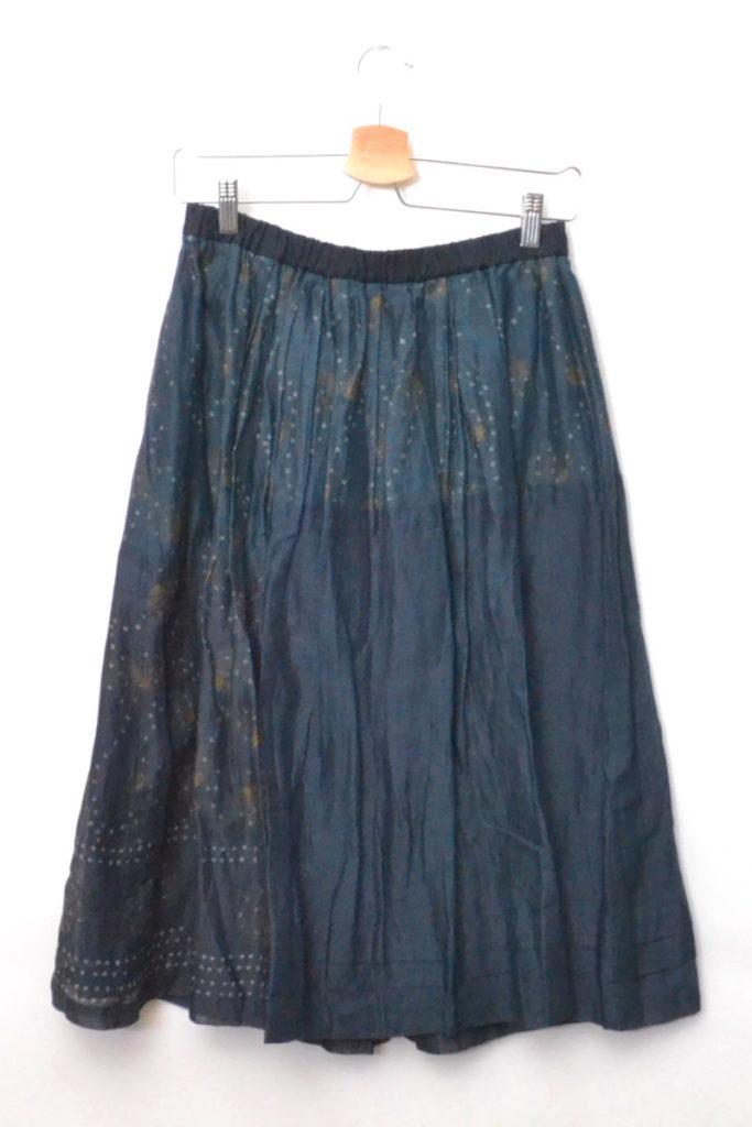 コットンリネン 切替 柄 スカートの買取実績画像