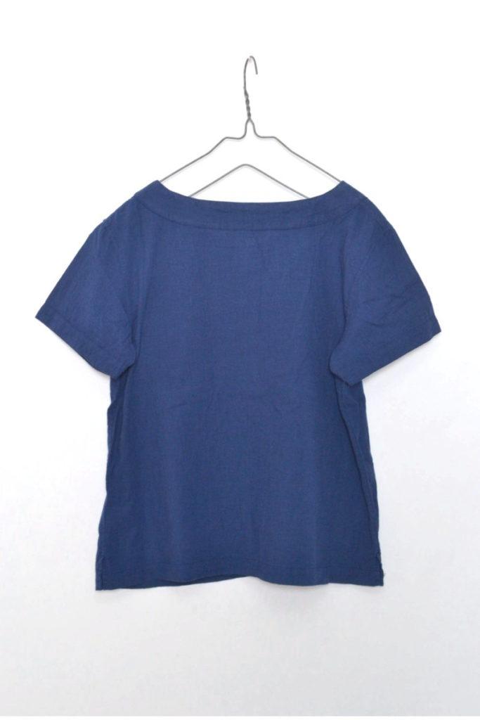 コットンリネン 半袖プルオーバーシャツの買取実績画像