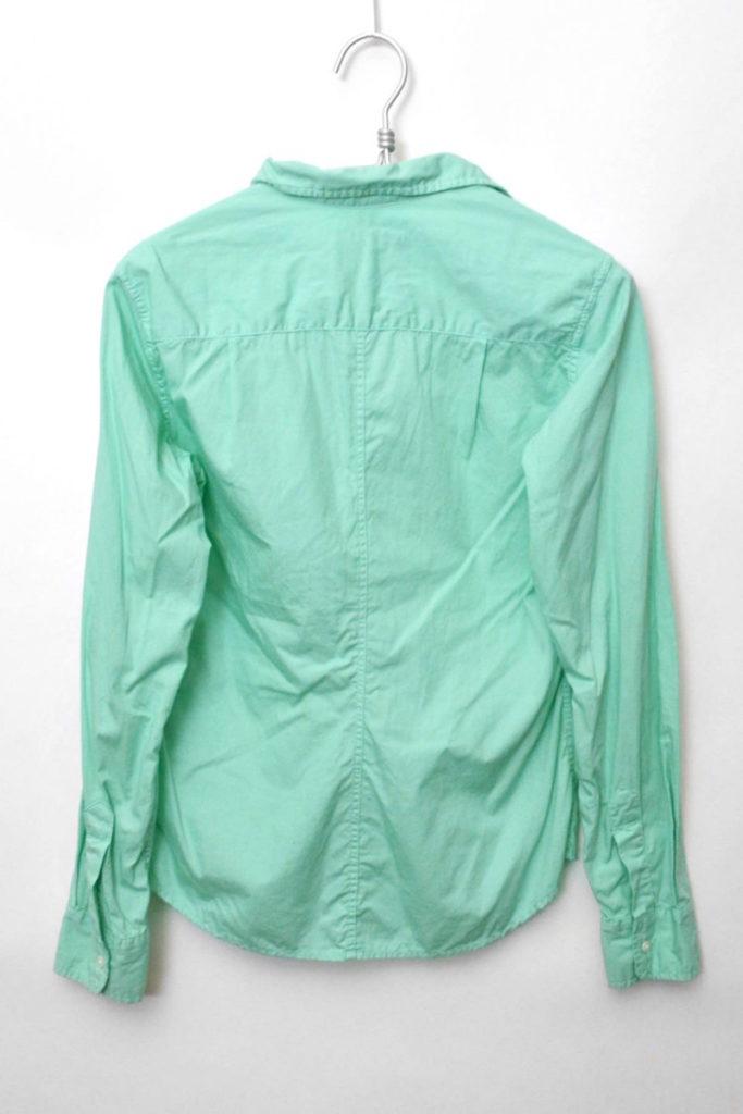 BARRY ITALIAN POPLIN 製品染め スキッパーシャツの買取実績画像