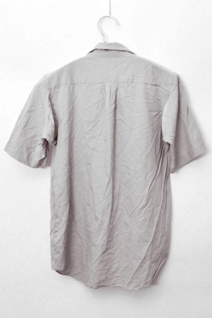 AD2004 2005SS/ポリエステル縮絨 半袖シャツの買取実績画像