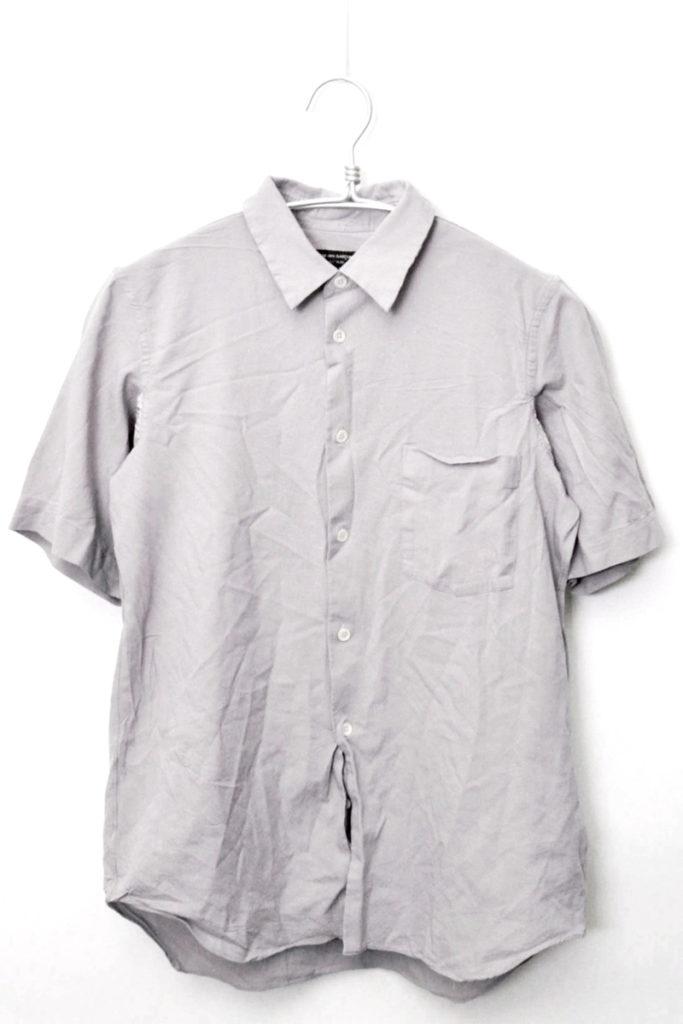 AD2004 2005SS/ポリエステル縮絨 半袖シャツ