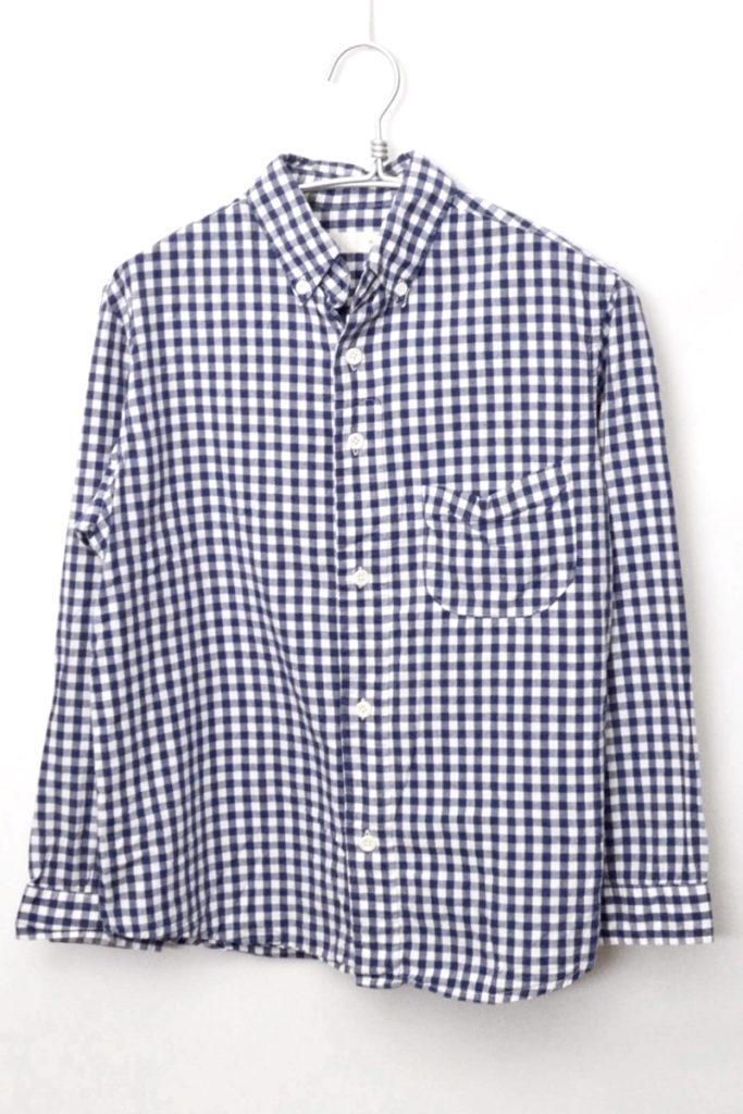 ギンガムチェック BDシャツ