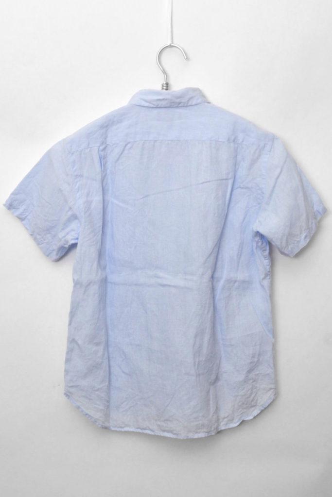 2015SS/ リネン100% 半袖シャツの買取実績画像