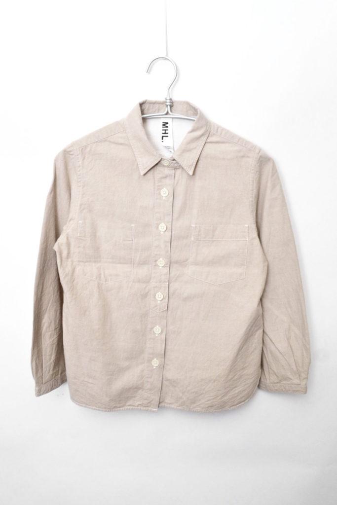 チンストラップ ワークシャツ
