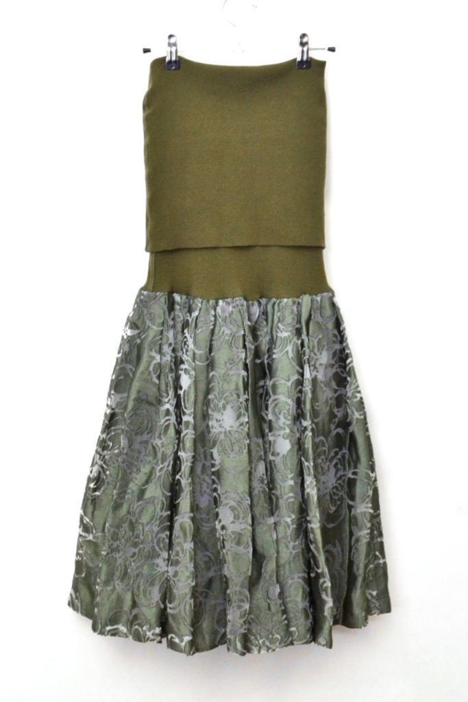 ジュンヤワタナベ コムデギャルソン/AD2010 2010AW/チューブトップ ドレス ワンピースの買取実績画像