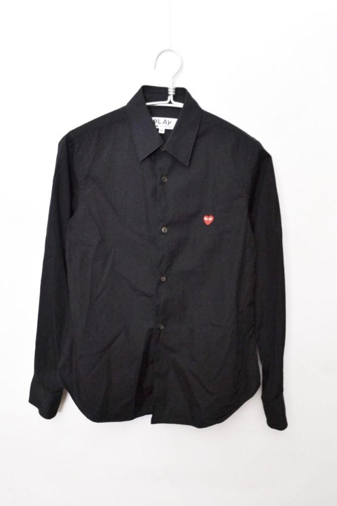 AD2013/ハート刺繍 ブロードクロス 長袖シャツの買取実績画像